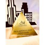 36-k Ampoules Mask Gold Glow